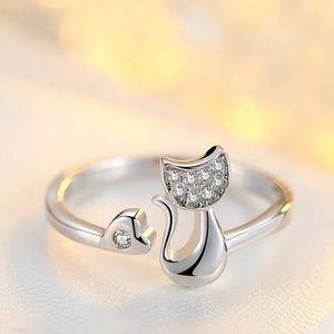 🆕 Kitty heart ring